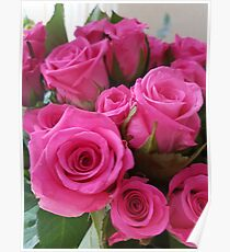 Valentine's Day roses Poster