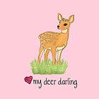 My Deer Darling by HoneybethStudio
