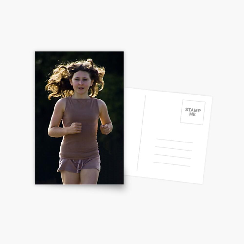 Fun Runner Postcard