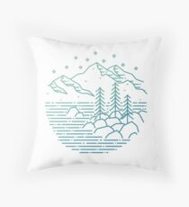 Still Water - Lake Tahoe, Nevada Throw Pillow