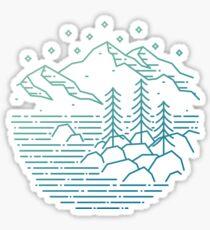 Still Water - Lake Tahoe, Nevada Sticker
