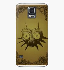 Funda/vinilo para Samsung Galaxy Majoras máscara oro