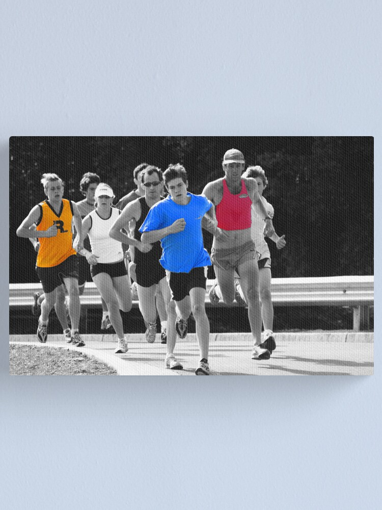 Alternate view of Fun Runners Canvas Print