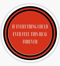 Foo Fighters - Everlong Sticker