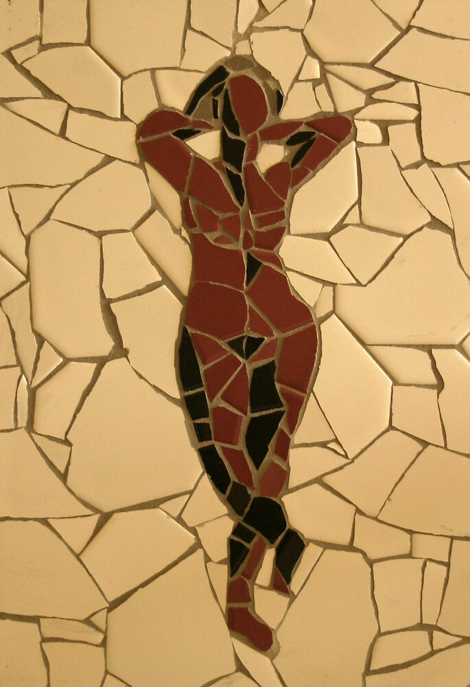 Female nude by Hans de Lange