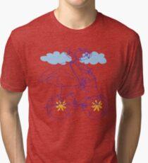 Free Spirit - Bike B Tri-blend T-Shirt