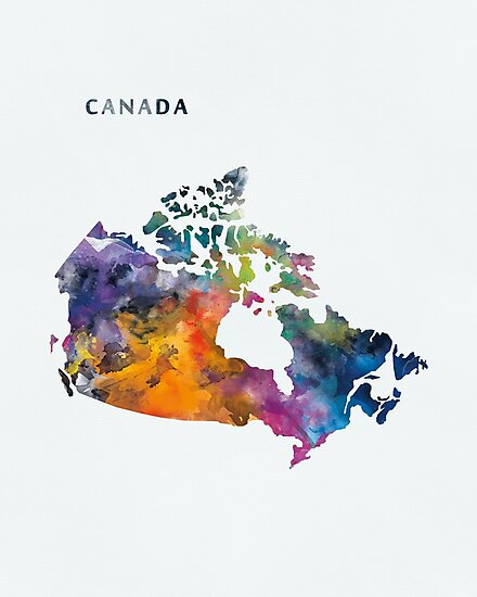 Canada by MonnPrint