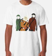 Bravenlarkes Sicherheitsanzüge Longshirt