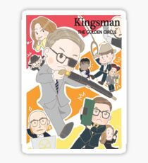 Kingsman: The Golden Circle - Colin firth Sticker