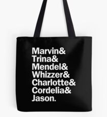 All Falsettos Characters | White Tote Bag