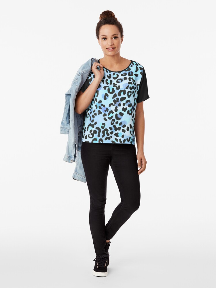 Alternate view of Cool Leopard Chiffon Top