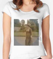 Edwardian dress  Women's Fitted Scoop T-Shirt