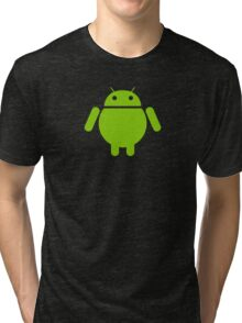 Fat Android Tri-blend T-Shirt