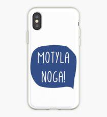 Motyla noga! - Polish phrase iPhone Case