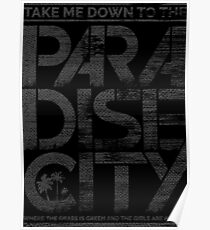 Paradise City Poster