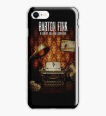 Coen Brothers Classic Film Barton Fink iPhone Case/Skin