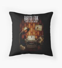 Coen Brothers Classic Film Barton Fink Throw Pillow