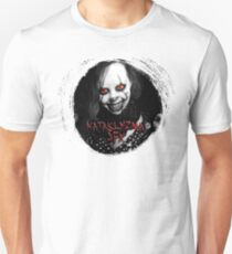 Female Pennywise in Black and White T-Shirt
