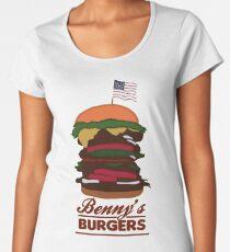 Benny's Burgers Women's Premium T-Shirt