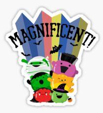 "Halloween - ""Awesome Mochi Friends"" Sticker"