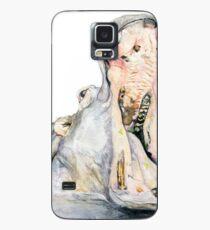 Nilpferd Hülle & Klebefolie für Samsung Galaxy