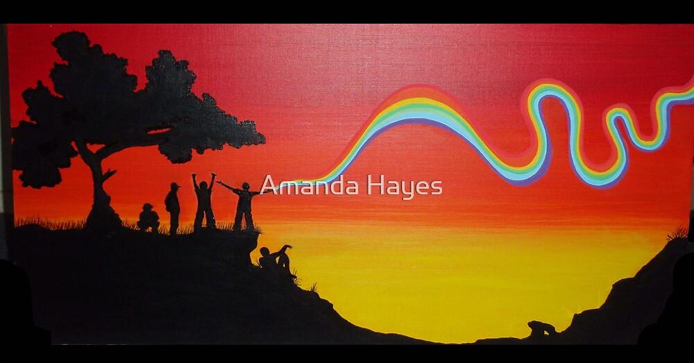 raindow tripping by Amanda Hayes