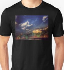 Erie Lackawanna Railroad - Old Architecture 2 - Hoboken T-Shirt