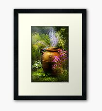The Urn Framed Print