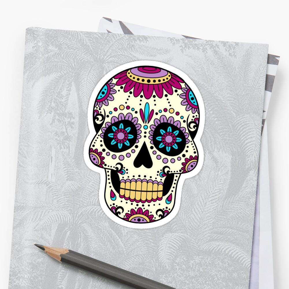 Crâne mexicain Sombrero Art TatooMan Calavera el dia de los muertos ... 8aafae4ae42