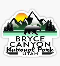 BRYCE CANYON NATIONAL PARK UTAH BEAR Sticker