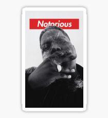 Notorious B.I.G. - Biggie Smalls Sticker