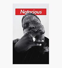 Notorious B.I.G. - Biggie Smalls Photographic Print