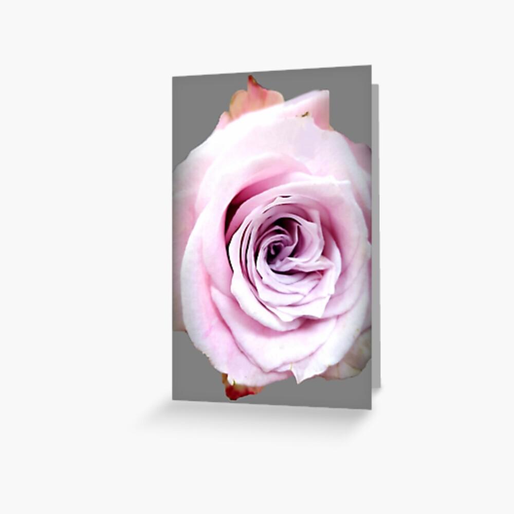 Faith rose simply  Greeting Card