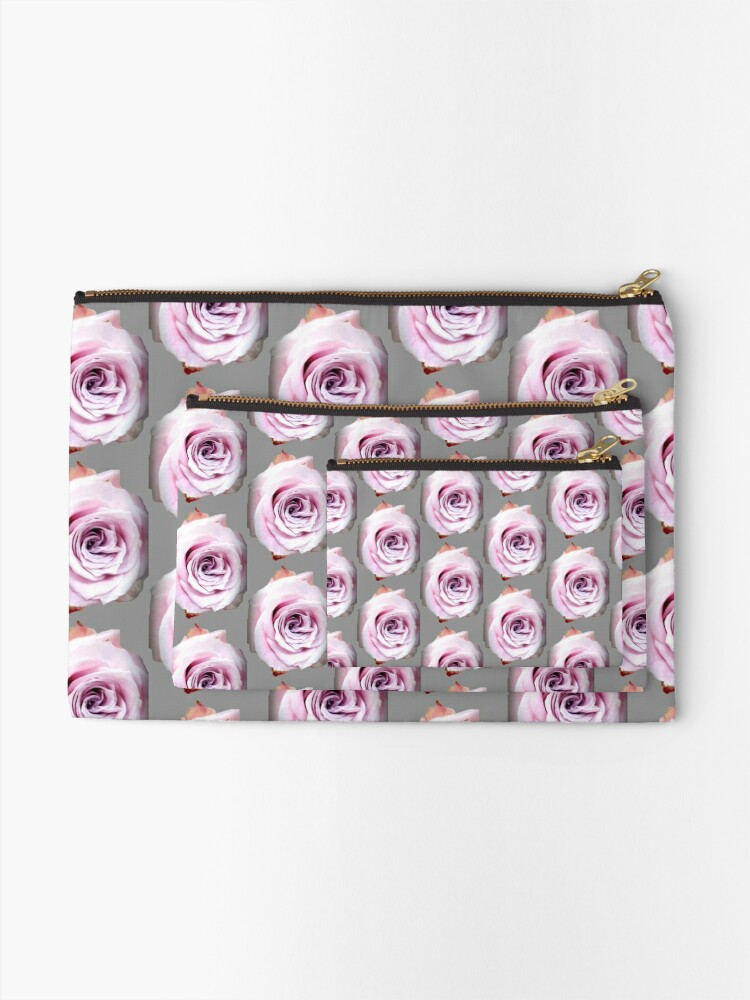 Alternate view of Faith rose simply  Zipper Pouch
