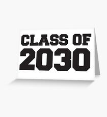 Class of 2030 Greeting Card