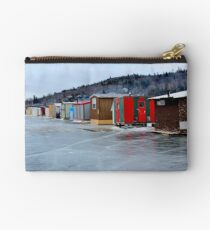 The Renforth Ice-fishing Village IV Studio Pouch