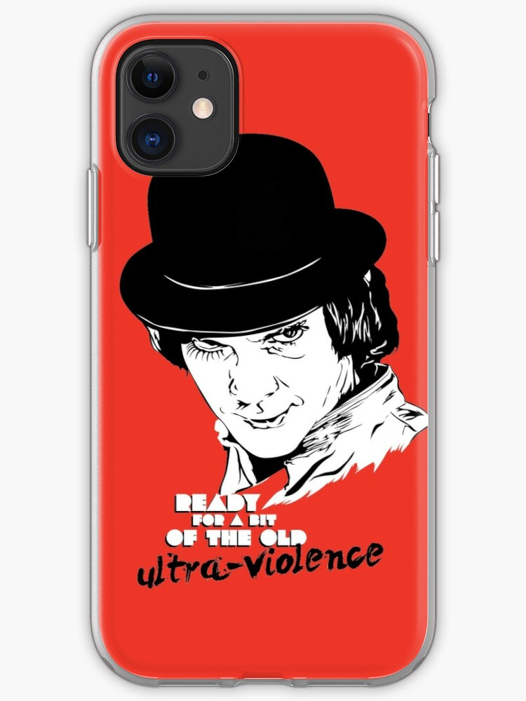 Clockwork Orange Ultraviolence iphone case