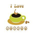 I love coffee by ikshvaku