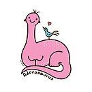 Adorasaurus by zoel