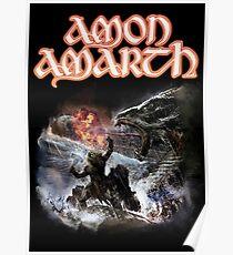 Amon Amarth - Twilight Of The Thunder God Poster