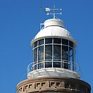 The Light in the Norah Head Light House by Bev Woodman