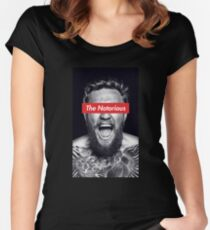 The Notorious Conor McGregor Women's Fitted Scoop T-Shirt