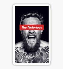 The Notorious Conor McGregor Sticker