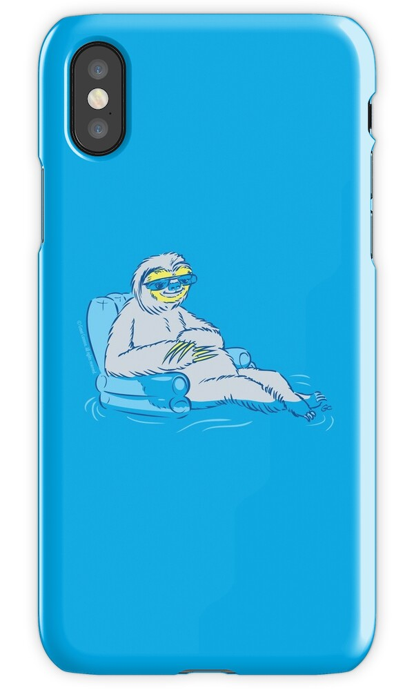 sloth iphone case quot sloth quot iphone cases amp covers by trulyfunky redbubble 12989