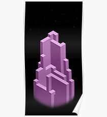 Block Tower Poster
