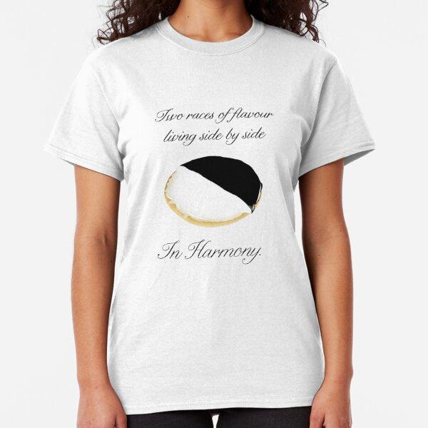 Black & White Cookie weiß es am besten Classic T-Shirt