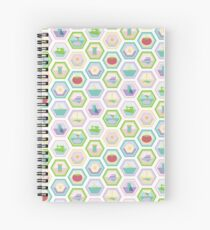 Sewing Quilting Flat Pattern Spiral Notebook