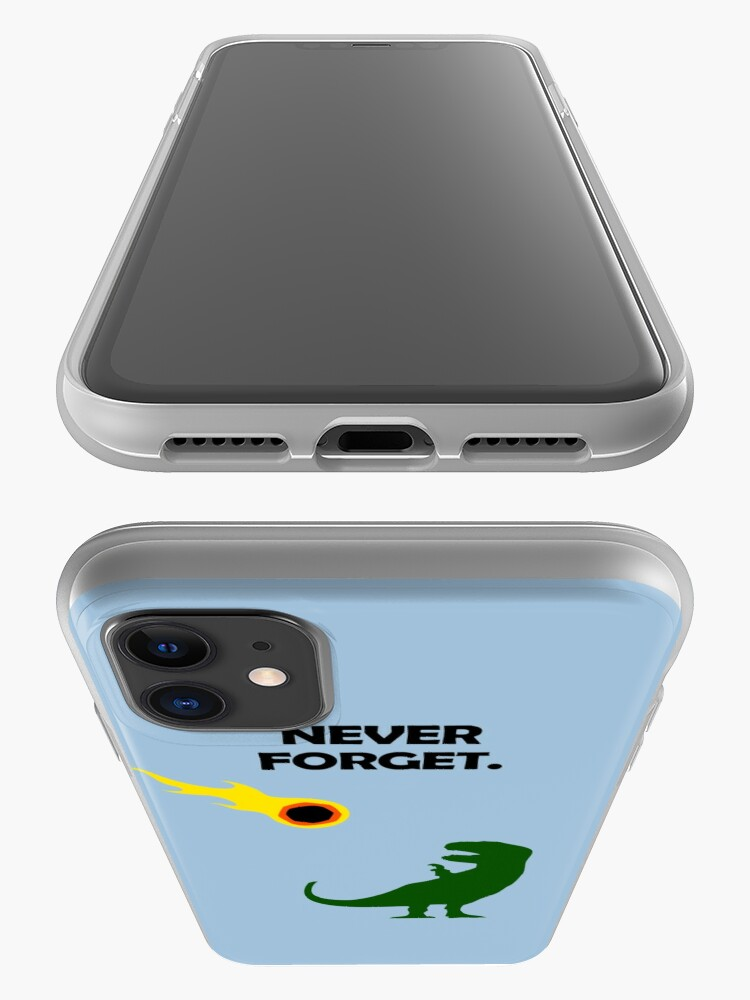 Alternate view of Never Forget (Dinosaurs) iPhone Case & Cover