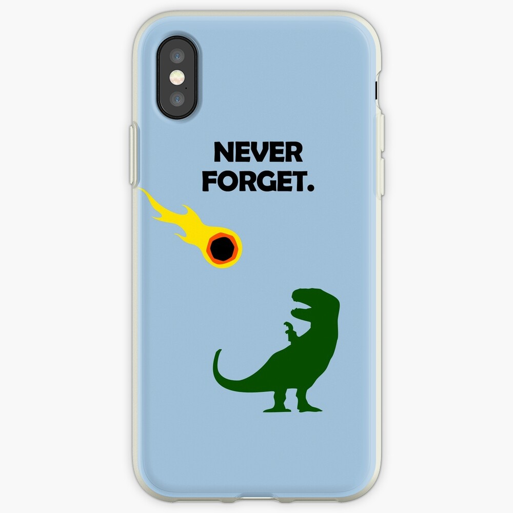 Never Forget (Dinosaurs) iPhone Case & Cover