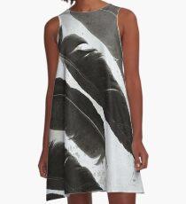 Raven Totem A-Line Dress